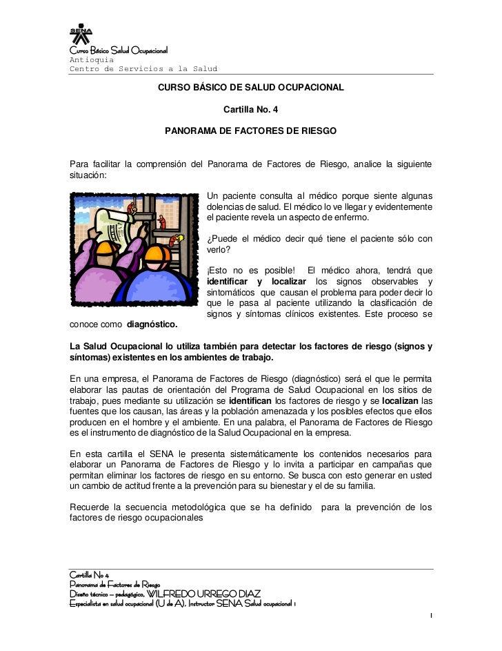 Curso Básico Salud Ocupacional Antioquia Centro de Servicios a la Salud                                CURSO BÁSICO DE SAL...