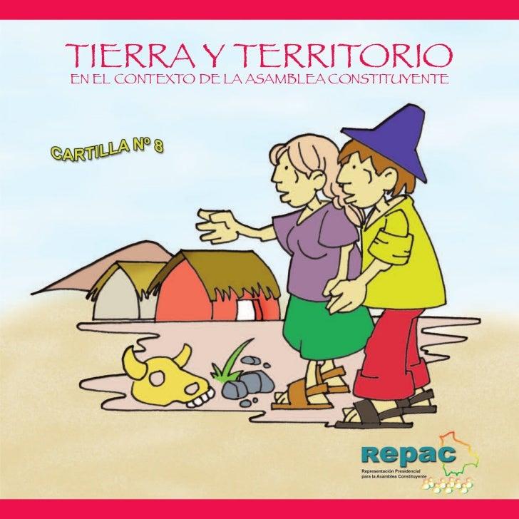 TIERRA Y TERRITORIOEN EL CONTEXTO DE LA ASAMBLEA CONSTITUYENTE
