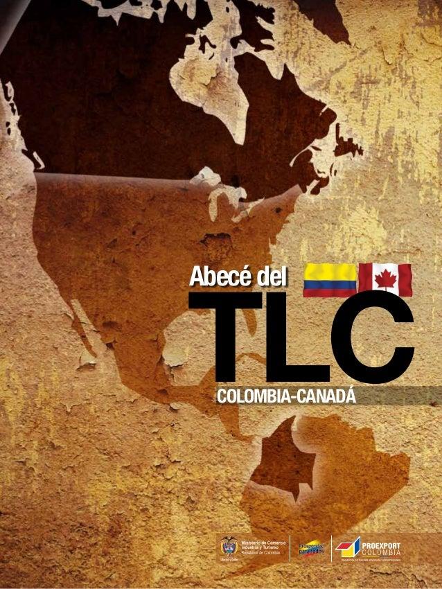 Abecé del  TLC COLOMBIA-CANADÁ