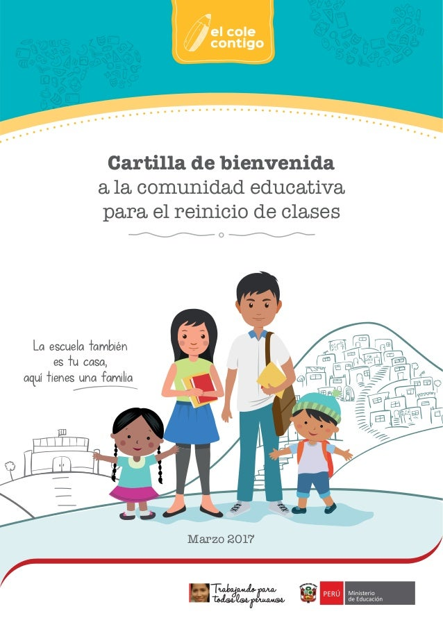 Cartilla De Bienvenida A La Comunidad Educativa Para El Reinicio De C