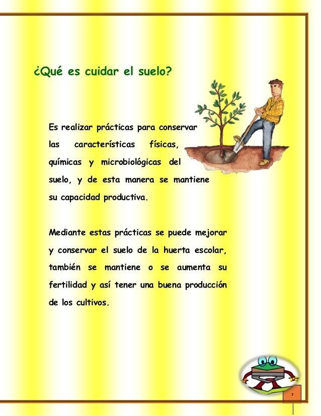 Cartilla don suelo version final for 5 cuidados del suelo