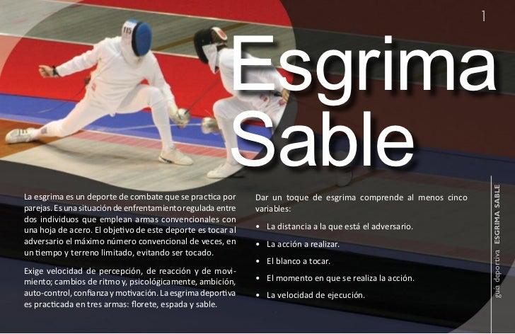 1                                                       Esgrima                                                       Sabl...
