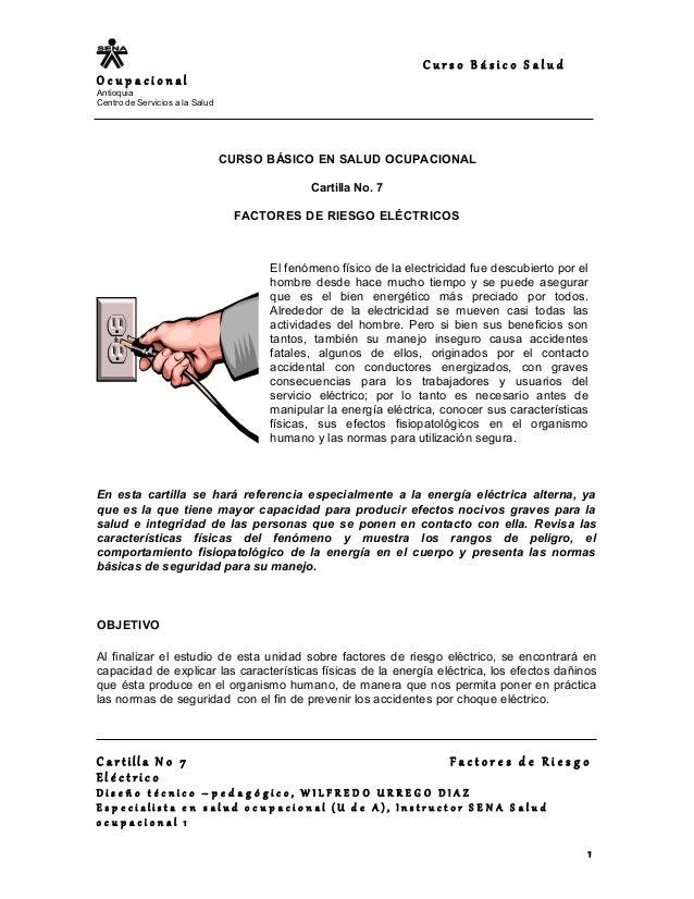 C u r s o B á s i c o S a l u d O c u p a c i o n a l Antioquia Centro de Servicios a la Salud CURSO BÁSICO EN SALUD OCUPA...