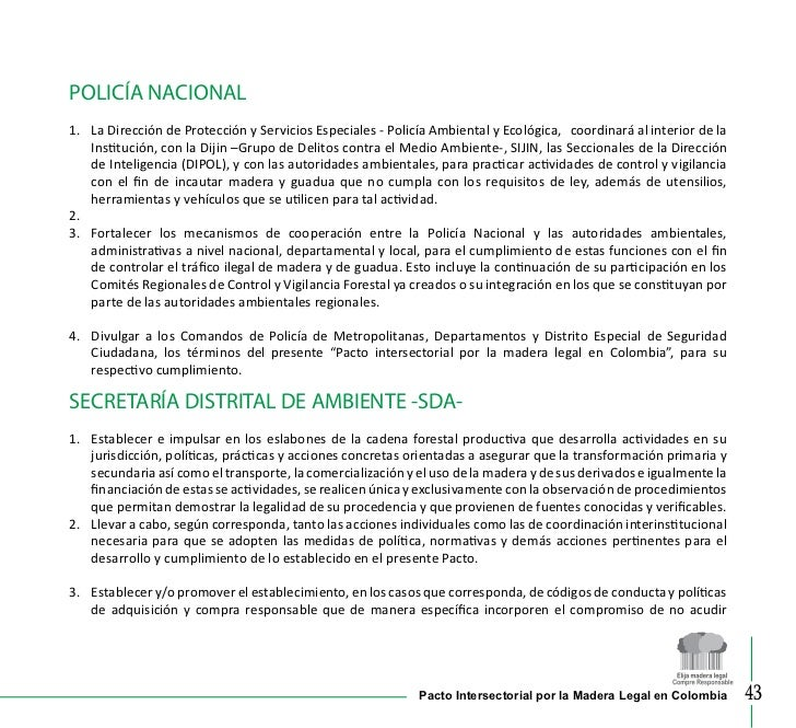 Cartilla pacto por la madera 2011 - Lntoreor dijin ...