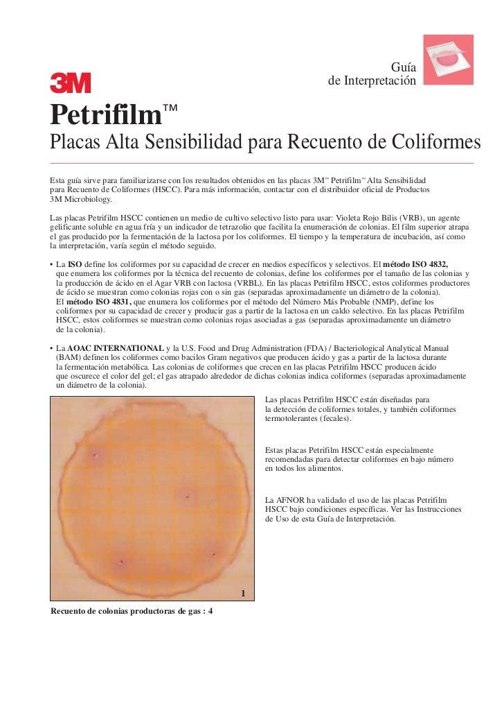 Guía                                                                                   de InterpretaciónPetrifilm™Placas A...