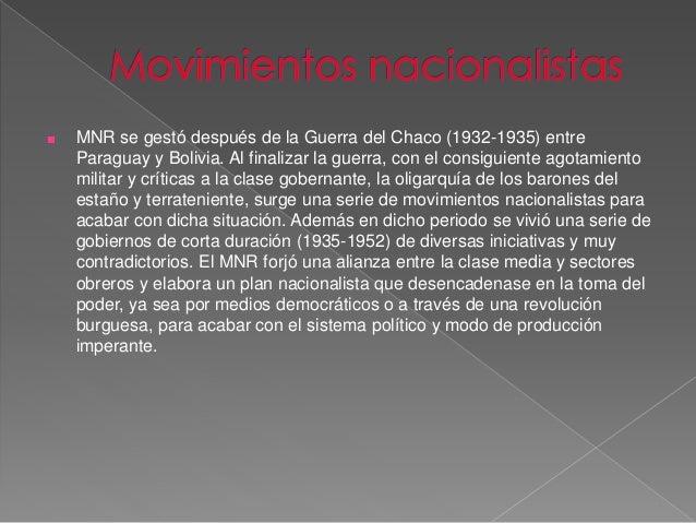 ■ Revolucionaria  La primera, es la del período revolucionario, en los años 1950. Entre 1952-  1964 realizó una serie de r...