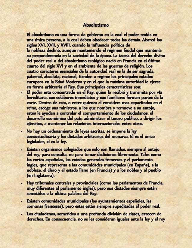 puede dictar medidas de perjuicio suyo sin derecho a defensa ni a pedir  explicación (encarcelamiento, nuevos impuestos, p...