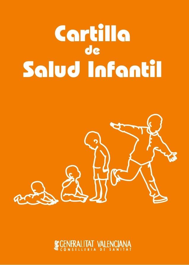 Cartilla de  Salud Infantil