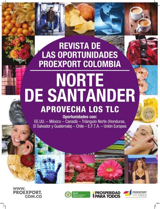 REVISTA DE LAS OPORTUNIDADES 1 www.proexport.com.co