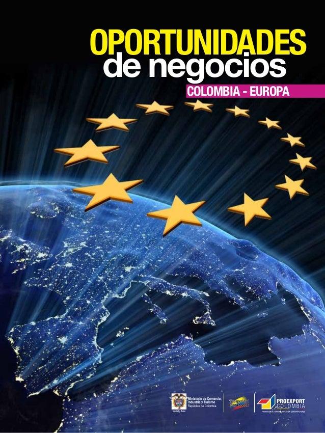 COLOMBIA - europA OPORTUNIDADES de negocios
