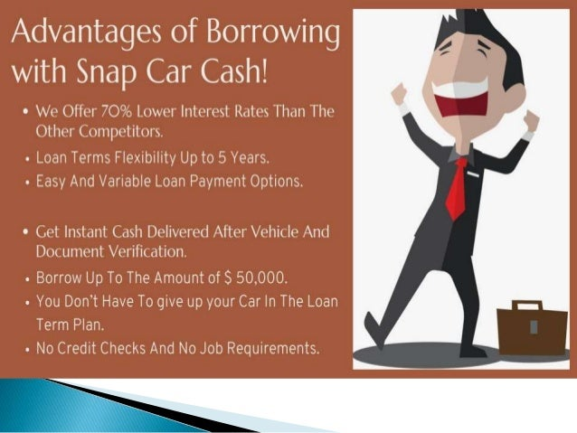 Best use to your vehicle title in Emergent Time by car title loans Calgary Slide 3