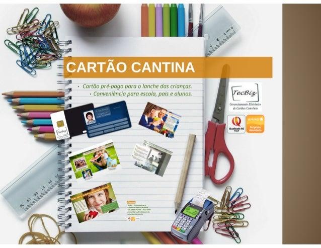 Cartão Cantina Tecbiz