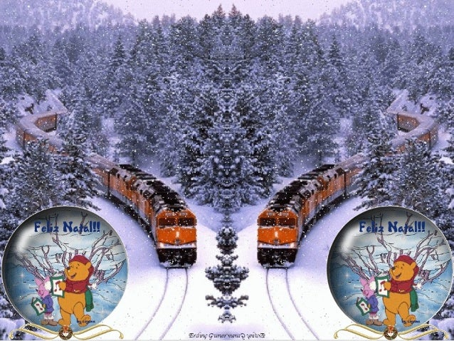 Cartão de natalFELIZ NATAL PARA TODOS Slide 2