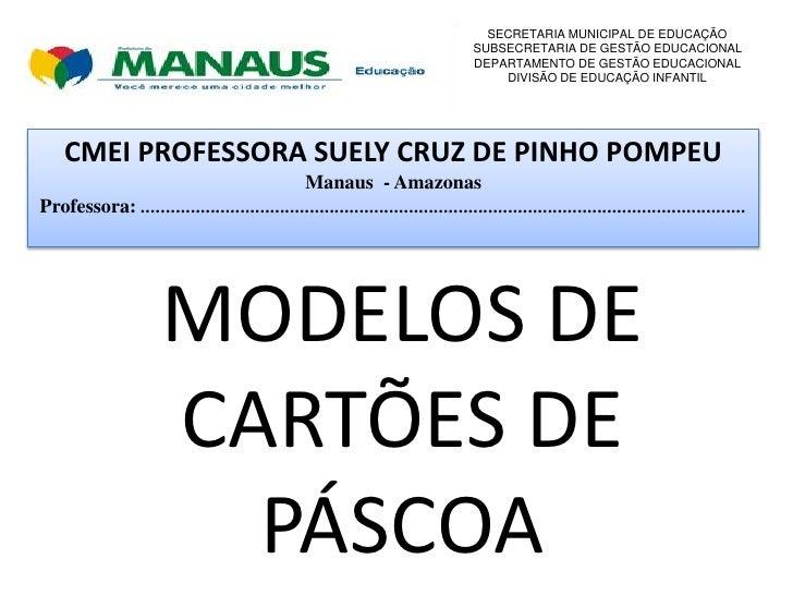 SECRETARIA MUNICIPAL DE EDUCAÇÃO                                                                                  SUBSECRE...