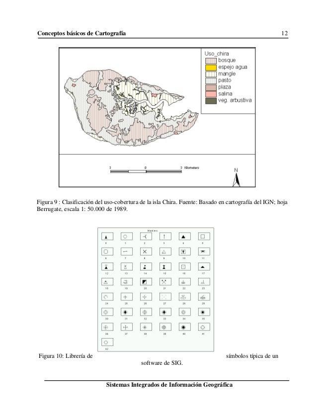 Conceptos básicos de Cartografía 12 Sistemas Integrados de Información Geográfica Figura 9 : Clasificación del uso-cobertu...