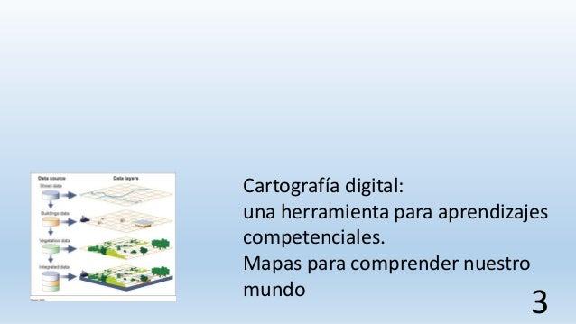 Cartografía digital: una herramienta para aprendizajes competenciales. Mapas para comprender nuestro mundo 3