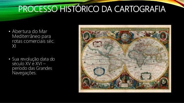 Cartografia: Elementos básicos de cartografia e projeções cartográficas Slide 3