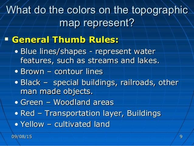 Cartographic Map Design