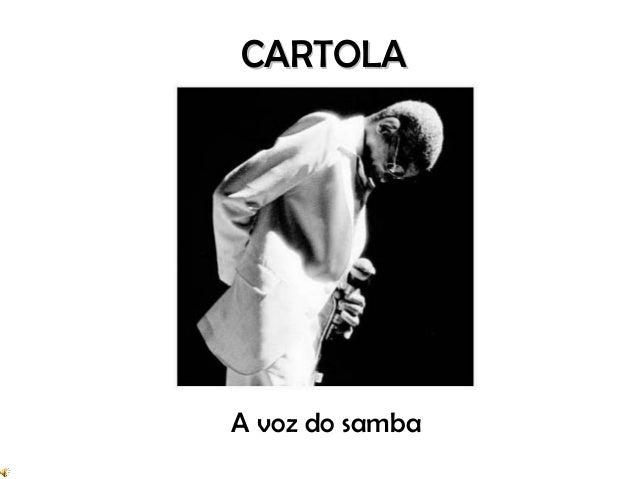 CARTOLAA voz do samba