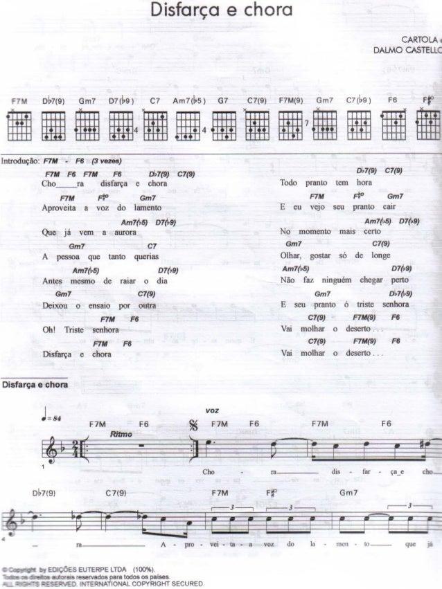 songbook cartola