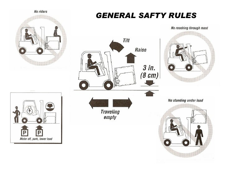 GENERAL SAFTY RULES