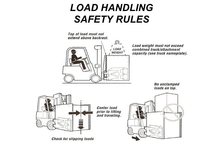 LOAD HANDLING SAFETY RULES