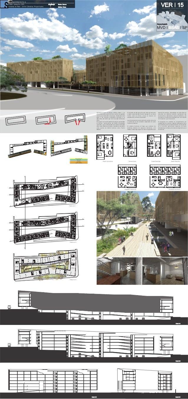 D A A B B C C Nicolas Cabrera Emiliano Monne Proyección Exterior Servicios Caja de circulacion Faja Publica Faja Privada I...