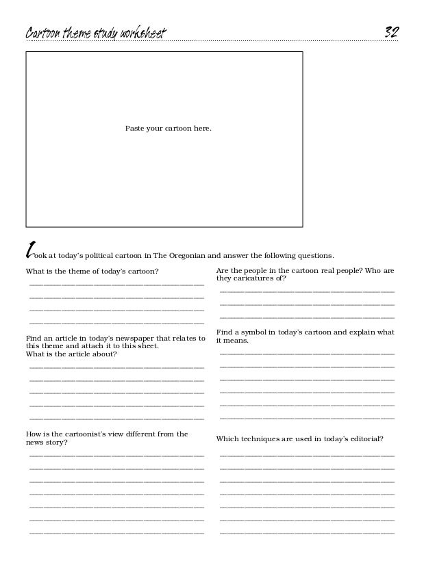 Cartoon Analysis Worksheet Sharebrowse – Political Cartoon Analysis Worksheet