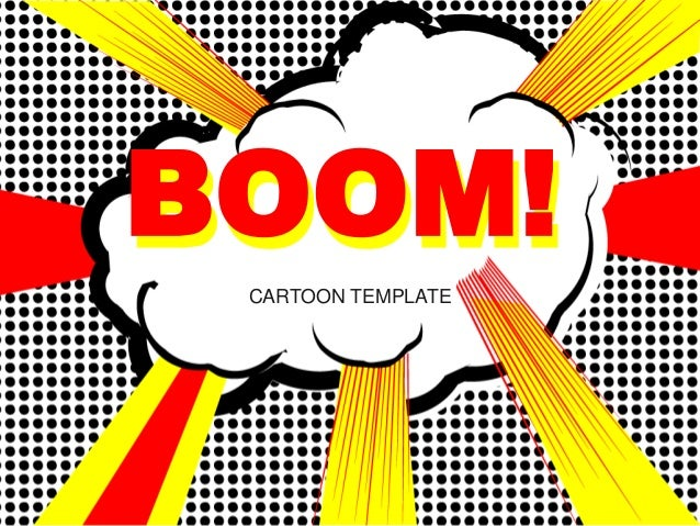 Cartoon pop art template free ppt download cartoon template boom toneelgroepblik Choice Image