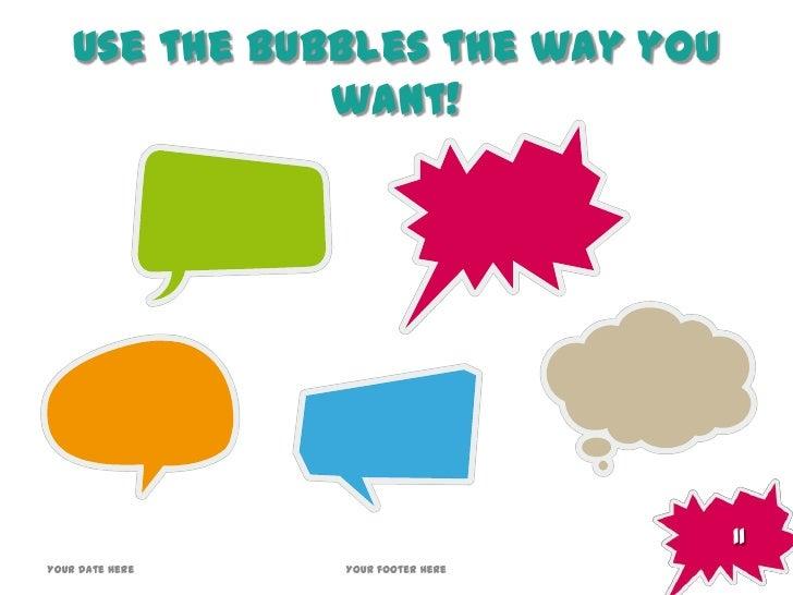 bubbles template