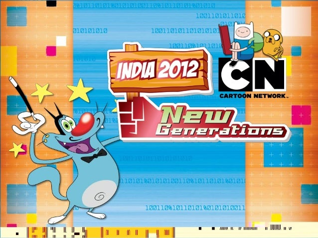 Cartoon Network India - New Generations Research 2012