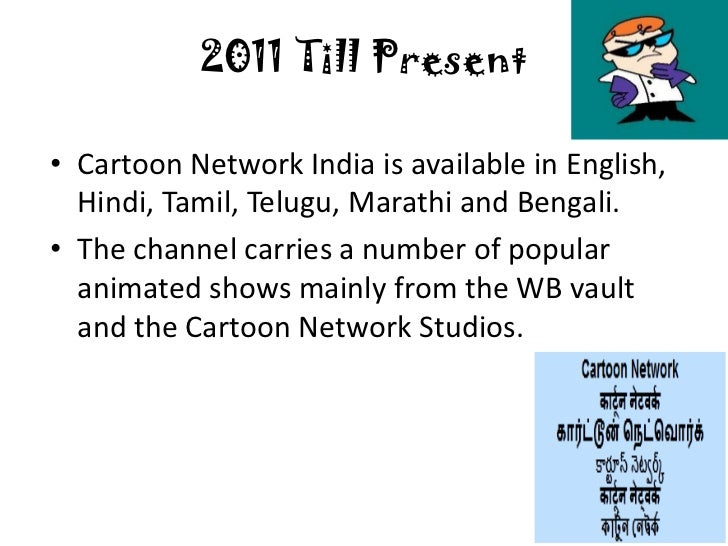 Cartoon network niche in mature market