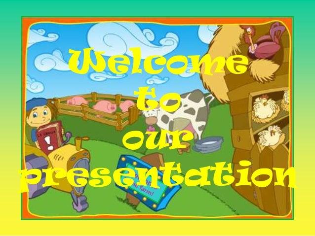 cartoons presentation of group 7