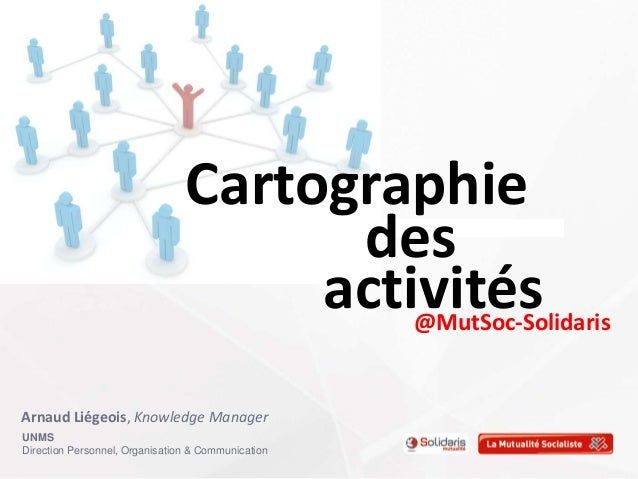 UNMSDirection Personnel, Organisation & CommunicationCartographiedesactivités@MutSoc-SolidarisArnaud Liégeois, Knowledge M...