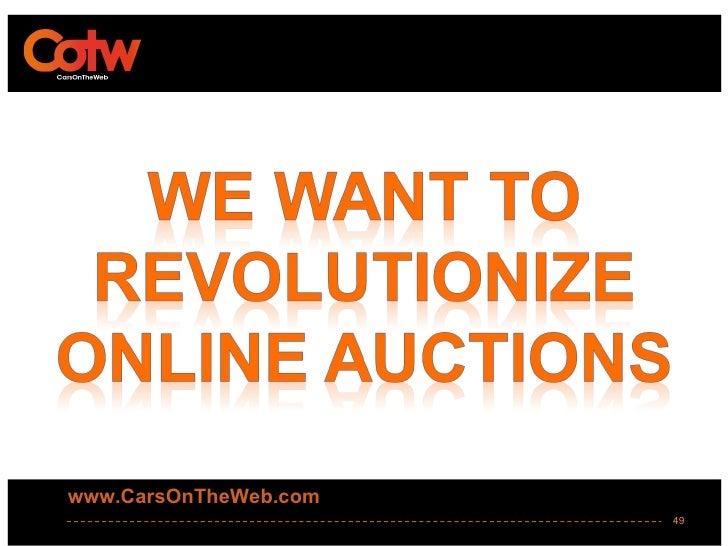 www.CarsOnTheWeb.com                       49