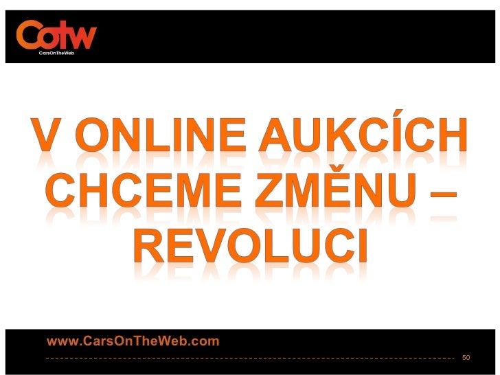www.CarsOnTheWeb.com                       50