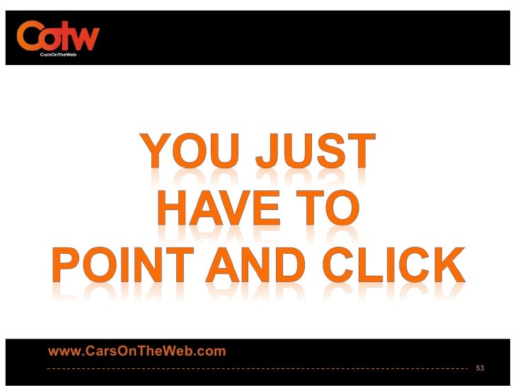 www.CarsOnTheWeb.com                       53