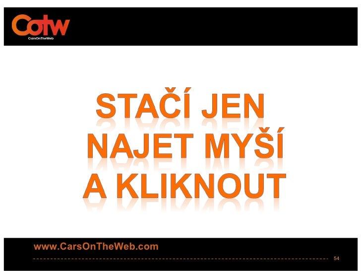 www.CarsOnTheWeb.com                       54