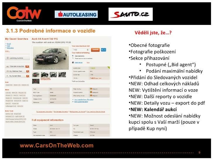 3.1.3 Podrobné informace o vozidle     Věděli jste, že…?                                     •Obecné fotografie           ...