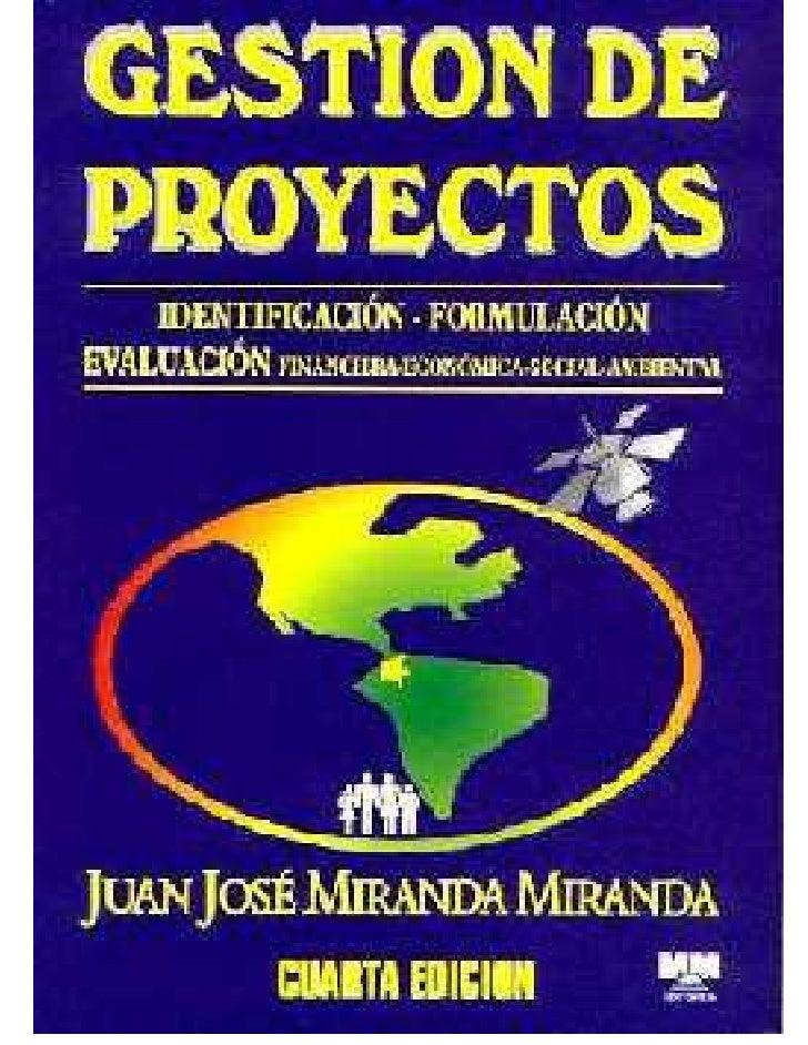 CaráTula Libro GestióN De Proyectos