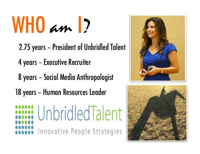 Using Social Media In HR & Recruiting - Jennifer McClure - Oct 2012 Slide 2