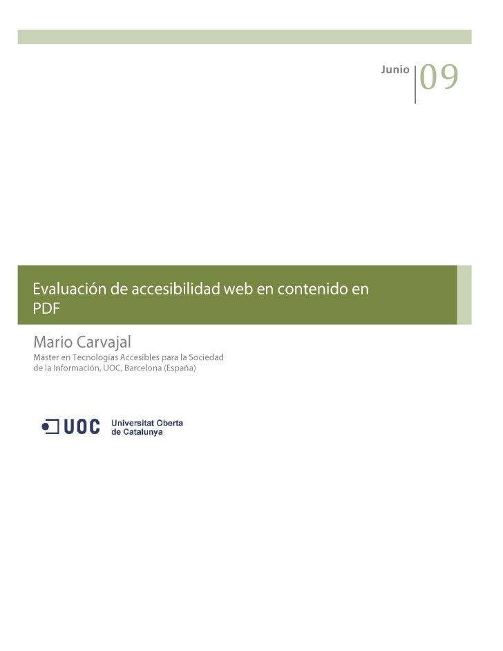 Junio0908OtoñoMario CarvajalMáster en Tecnologías Accesibles para la Sociedad de la Información, UOC, Barcelona (España)-4...