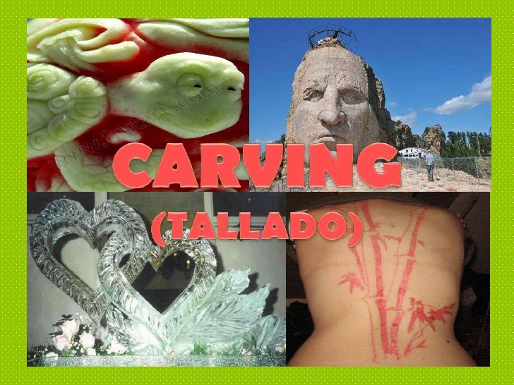 PROCESO  DECARVING