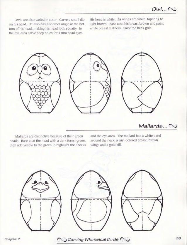 Carving Whimsical Birds Laura Putnam Dunkle