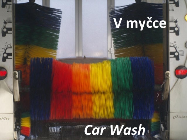 Car Wash V myčce