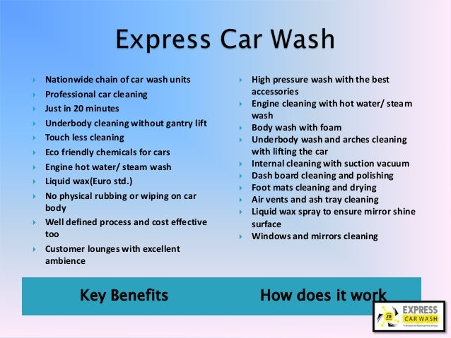 Car Wash Company Car Wash Franchise Car Cleaning