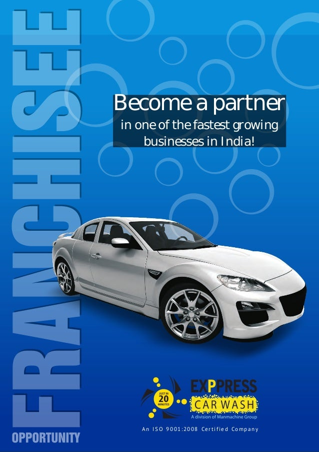 Car Wash Business Franchise In India