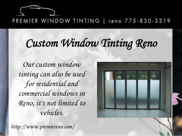 Car window tinting reno nv for 2 for 1 window tinting