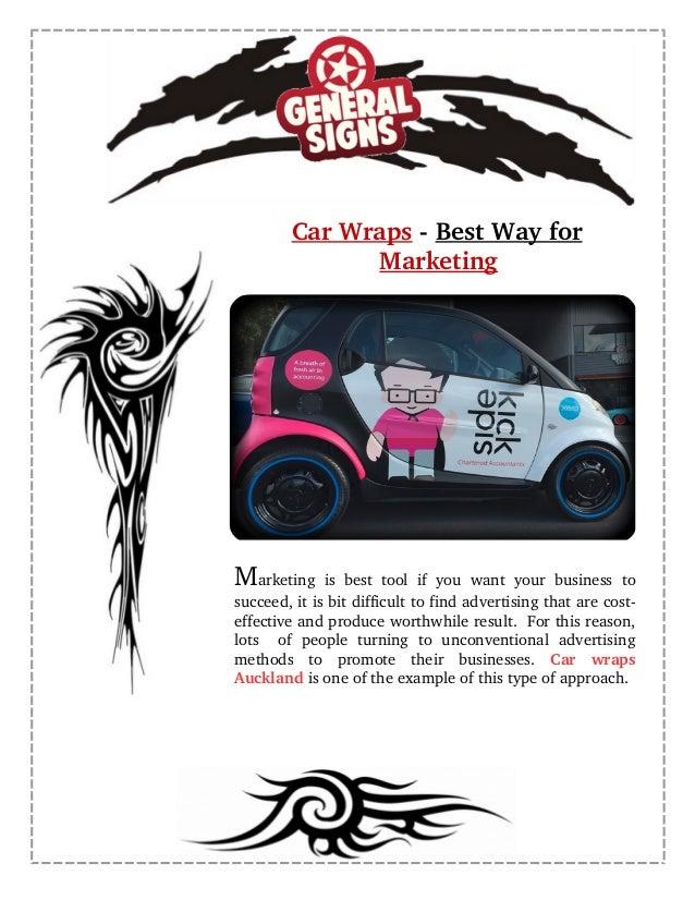 CarWrapsBestWayfor Marketing Marketingisbesttoolifyou want your businessto succeed,itisbitdifficultto...