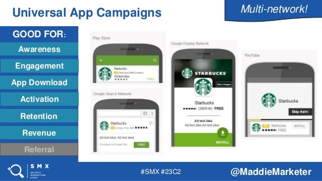 Inside Mobile App Campaigns for Google Play - Maddie Cary